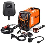 TACKLIFE Electric Welder, MIG/MMA Welding Machine 20A-140A with Welding Wire, Advanced IGBT Inverter Technology, Digital display, Multifunction Adjustable Welding Current and Voltage EWT01A
