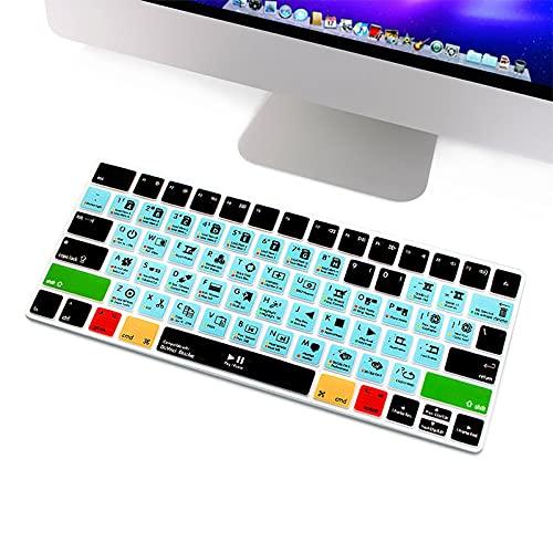 Super Ableton Live Avid Pro Tools Final Cut Pro X PS Hot Key Funktionale Tastaturabdeckung für Magic Keyboard MLA22B/A US-DaVinci Resolve