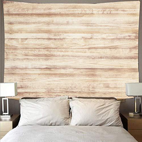 Patrón de tablón de madera retro tapiz psicodélico colgante de pared decoración de dormitorio hippie serie de madera tapiz tela colgante A6 180x230cm