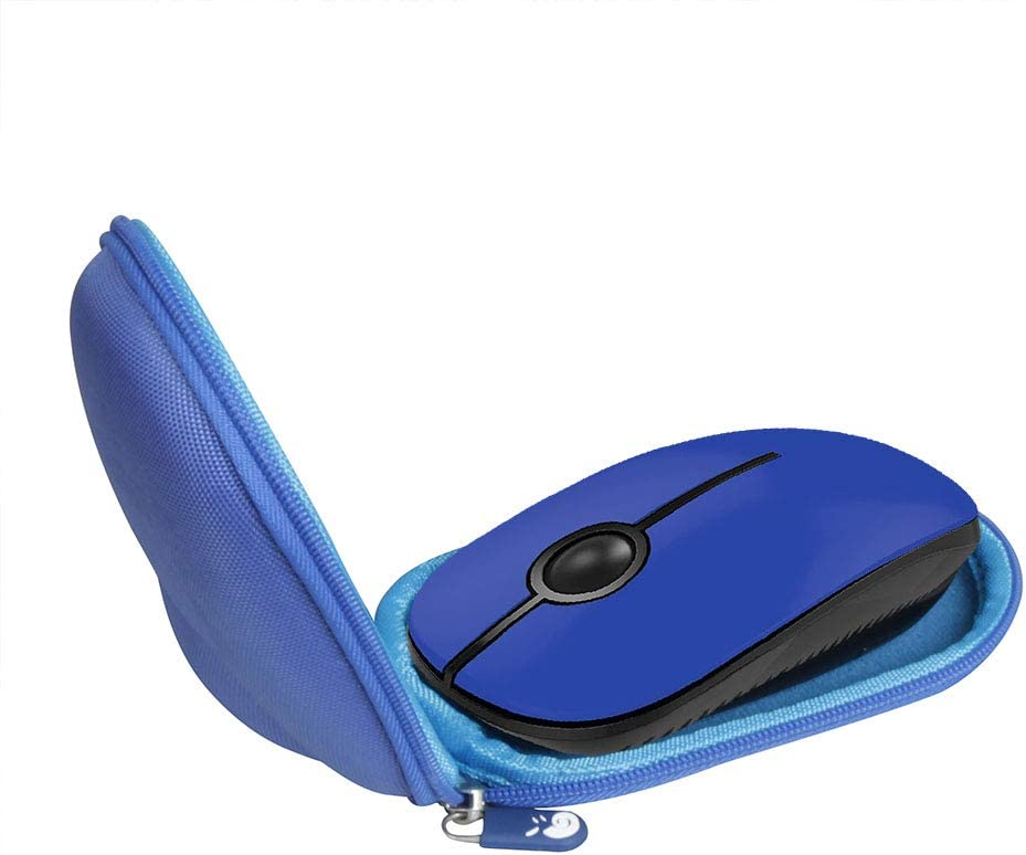 Hermitshell Travel Case for Jelly Comb 2.4G Slim Wireless Mouse (Only Case) (Dark Blue)