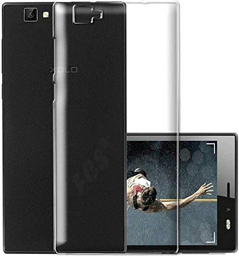 FCS Crystal Case for Xolo Black 1X Soft Flexible TPU Silicone Back Door Protective Cover - Transparent