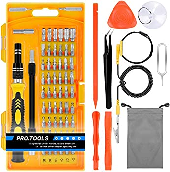 TyhoTech 65 in 1 Magnetic Screwdriver Set with 57 Bits Driver Kit