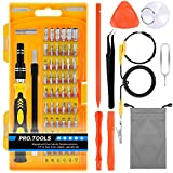 Precision Screwdriver Set TyhoTech 65 in 1 Magnetic Screwdriver Set Repair Tools Kit with 57 Bits Driver Kit for iPhone iPad Laptop Smartphones MacBook PC Watches Xbox Glasses Cameras Free Storage Bag