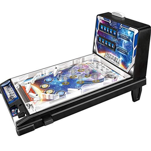 QHW Juegos de Pinball, Mini Juguetes de Pinball, Juegos de Super Pinball espaciales, máquinas de Pinball de Rompecabezas para Padres e Hijos, máquinas de Pinball electrónicas, Regal