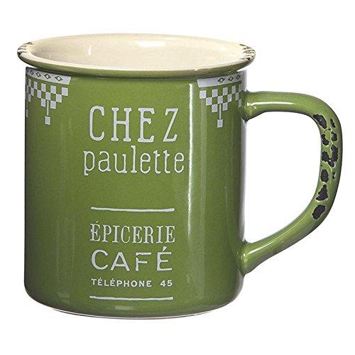Mug vert tasse américaine Comptoir de Famille vintage Chez Paulette 154900