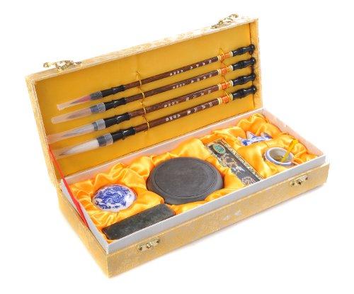 Quantum Abacus Calligrafica Deluxe: Set de caligrafía de 11 piezas en elegante caja de regalo, H-CGS-11-01