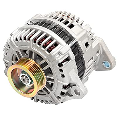 INEEDUP Car Alternator Fit for Nissan Murano 2004-2007 V6 3.5L 3498cc AHI0104 LR1110-710C 13826
