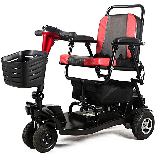 LJWJ Wheelchair Lightweight Mobility Scooter