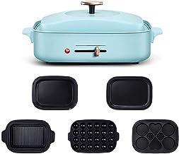 TYUIO cuisinière électrique Multifonction - Une Maison Intelligente 4/5 Grande marmite de châssis fumée Huile légère Moins...