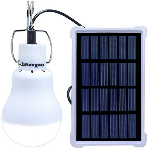 LISOPO 22LED Solar Remote Control Lights,Portable Outdoor...