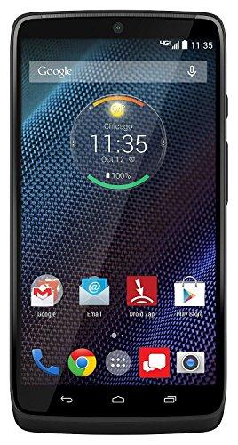 Motorola Droid Turbo XT1254 32GB Verizon Android Phone w/ 21MP Camera - Black Ballastic Nylon