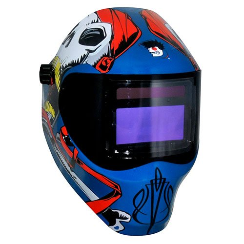 Save Phace 3011698 Captain Jack 40-Vizl4 Series Welding Helmet,Royal Blue