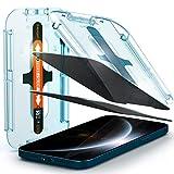 Spigen EZ Fit Filtro Privacidad Protector Pantalla para iPhone 12 Pro MAX - 2 Unidades