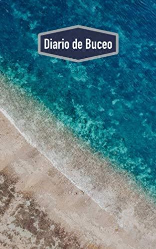 Diario de Buceo: Cuaderno para buceadores: espacio para 100 inmersiones (motivo: océano)