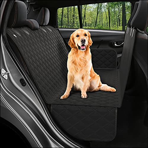 Dog Back Seat Cover Protector Waterproof Scratchproof Nonslip Hammock for Dogs...