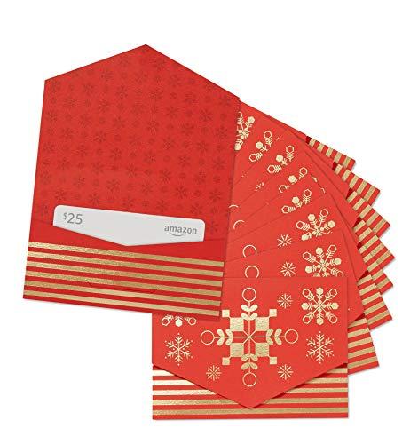 Amazon.com $25 Gift Card - Pack of 10 Mini Envelopes