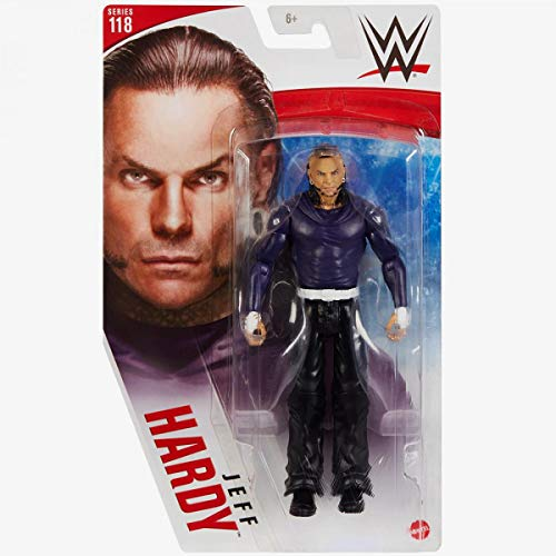 Collect WWE - Series 118 Jeff Hardy - Action Figure, bring home the action of the WWE - Approx 6'