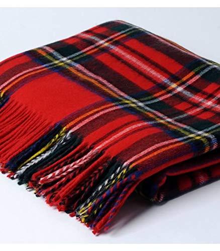 Plaid Écossais Rouge Royal Stewart