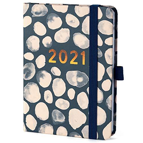 Boxclever Press Perfect Year Kalender 2021. Taschenkalender 2021 A6 mit Wochenansicht & Planungsseiten. Terminplaner 2021 von Jan.-Dez.'21. Planer 2021 mit perforierten Notizseiten & Listen