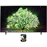 LG OLED48A1PUA 48 Inch A1 Series 4K HDR Smart TV with AI ThinQ 2021 Bundle with Premium 2 Year Extended Protection Plan