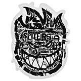 Spitfire Wheels - Ransom Bighead Skateboard Sticker - 13.5cm high Approx