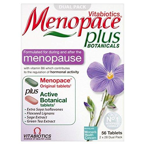 Vitabiotics Menopace Plus FOR Menopause Hormonal Activity 56 TABS