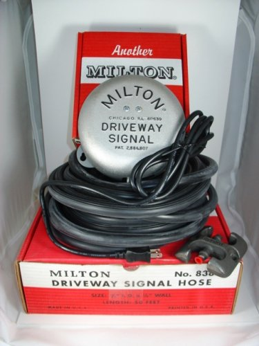 DRIVEWAY SIGNALS 805 WITH 175FT SIGNAL HOSE MILTON