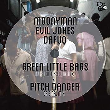 Pitcher Danger & Little Green Bag