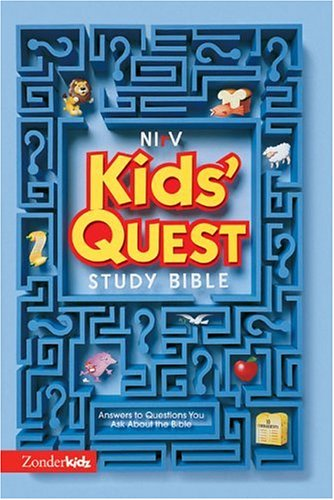Download Nirv Kids' Quest Study Bible: Answers to Questions You Ask About the Bible 0310925592