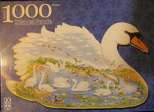 gran descuento Swan Lake, 1000 Piece Puzzle by F. X. X. X. Schmild USA  hasta un 60% de descuento