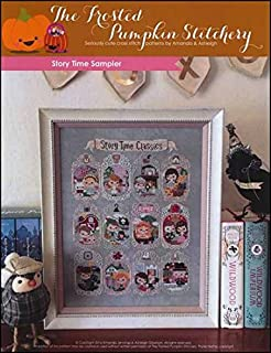 Story Time Sampler Cross Stitch Chart and Free Embellishment