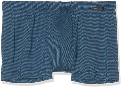 Schiesser Herren Multipack Shorts (2er Pack) Boxershorts, Blau (Petrol 811), X-Large (Herstellergröße: 007)