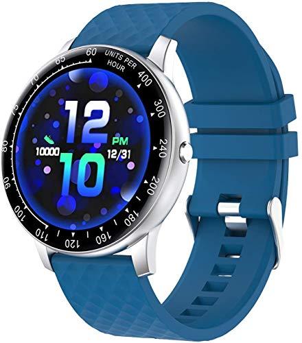 Smartwatch, Reloj Inteligente Impermeable IP67 con Monitor de Sueño Pulsómetros Cronómetros Contador de Caloría, Pulsera de Actividad Inteligente para Hombre Mujer para Android iOS
