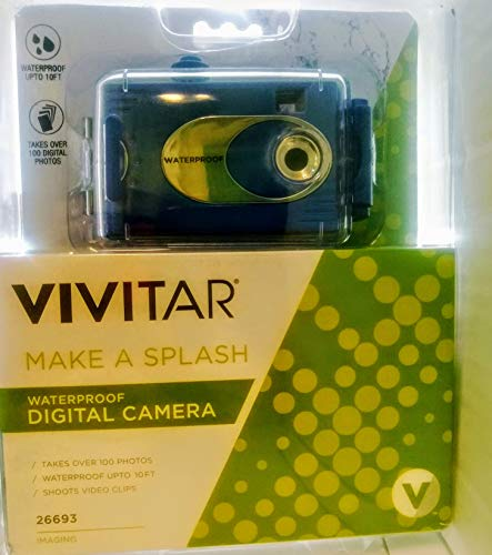 Vivitar Aquashot Underwater Digital Camera
