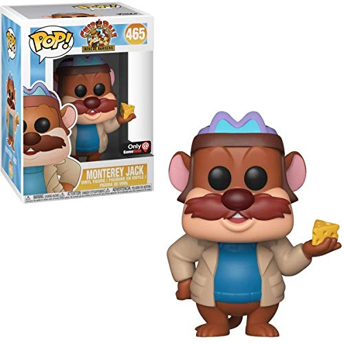 Funko Pop! Chip y Chop: Guardianes Rescatadores - Monterey Jack - Exclusivo