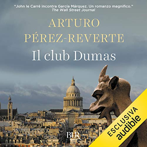Il club Dumas copertina