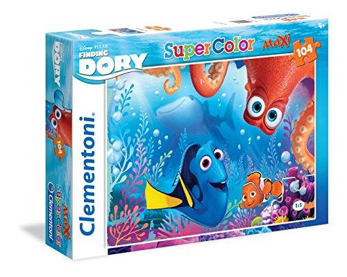 Clementoni - Maxi Puzzle de 104 Piezas Finding Dory: Bubble Buddies (23976)