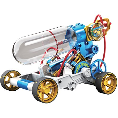 OWI 631 Air Power Racer Kit, Recommended Ages 10+, Fun and Easy to Build, Safety Valve Will Open and...