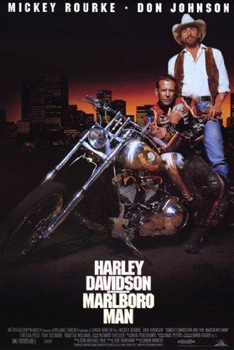 Poster del film Harley Davidson e Marlboro Man (27,94 x 43,18 cm)