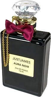 JUSTJAMES JUSTJAMES AURA NOIR 7800mAh 大容量 モバイルバッテリー 香水ボトル型 12ヶ月間安心保証 iPhone & Android 対応 JJS-BY-000002