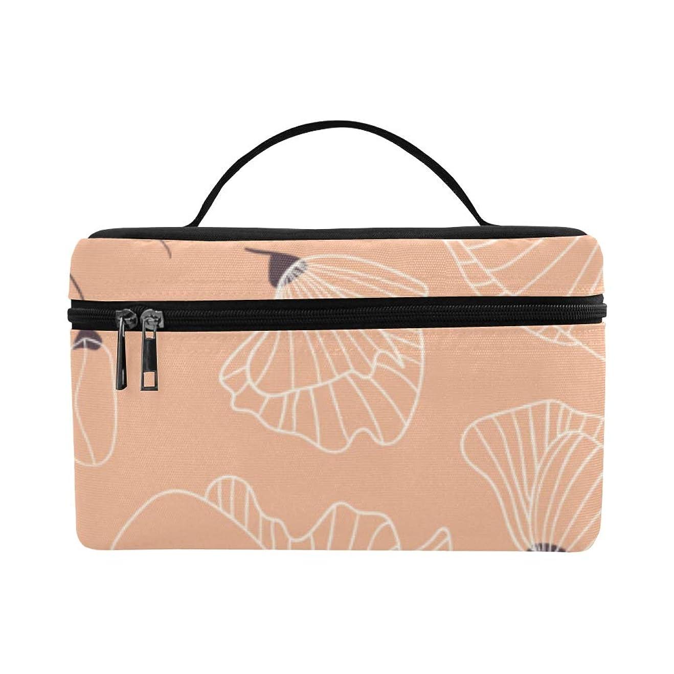 細部保証ドームLNJKD メイクボックス ケシの花 コスメ収納 化粧品収納ケース 大容量 収納ボックス 化粧品入れ 化粧バッグ 旅行用 メイクブラシバッグ 化粧箱 持ち運び便利 プロ用