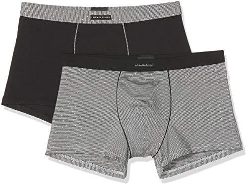 LVB Mannen Stripes And Dots Exquise Modal Zwembroek (verpakking van 2 stuks)