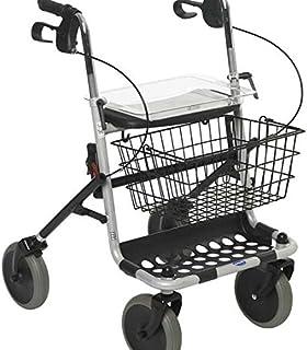 andador con ruedas para anciano