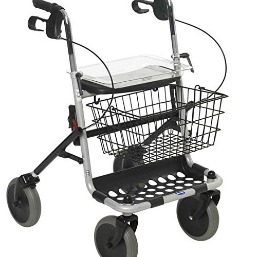 Invacare Banjo - Carro ambulante, plateado