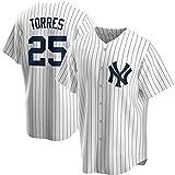 JMING Yankees #45 24#2 Jeter #99 Judge Uniforme De Béisbol para Hombre, Camiseta De Uniforme De Entrenamiento De Béisbol De élite, Camiseta De Manga Corta con Botón Superior De Béisbol (A12,L)
