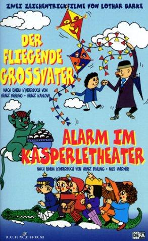 Der fliegende Großvater / Alarm im Kasperletheater [VHS]