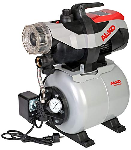 AL-KO Hauswasserwerk 3600 Easy, 850 W Motorleistung, 3.600 l/h max. Förderleistung, 38 m max. Förderhöhe, 17 L Druckkessel