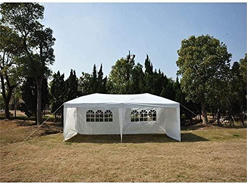 N/Z Campingausrüstung Campingzelt Markisenschatten 10 'X 20' Pavillon Partyzelt Non-Top Hochzeitsdach mit Tragetasche (Farbe: Weiß Größe: 3x6x2,5 m)