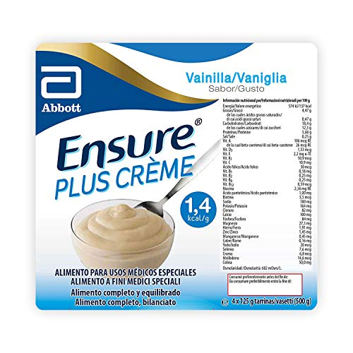 Ensure Plus Creme Budino Proteico   Confezione 4x125ml   Gusto Vaniglia