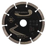 PRODIAMANT Diamant-Trennscheibe 135 x 22,2 mm ABRASIV für Asphalt, Estrich, Leichtbeton, frisch und feuchter Beton, Sandstein und weiche Schamotte 135mm
